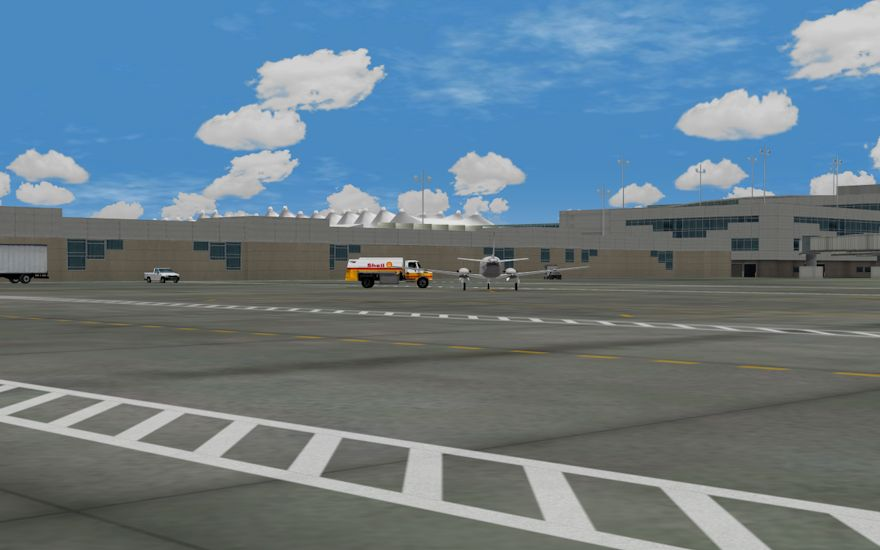 We pay attention to our customers! A.T.S. has customized the parking areas and ramps for a few airports that our customers operate out of for added realism.